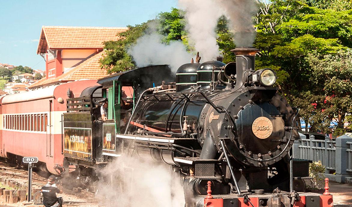 Saudade de viajar em trem como antigamente? Conheça o Trem das Águas!